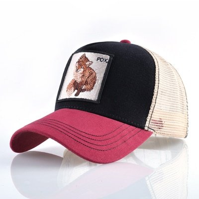8 Kinds of embroidery animal Baseball Caps men Breathable Mesh Snapback caps Unisex sun hat for women bone Casquette Hip Hop cap 54