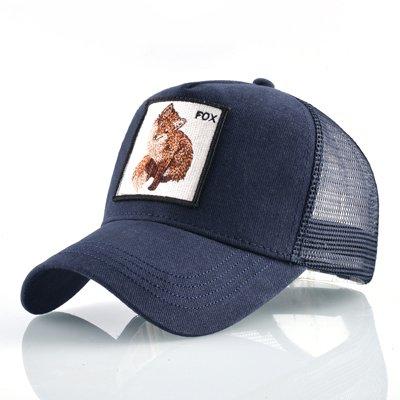8 Kinds of embroidery animal Baseball Caps men Breathable Mesh Snapback caps Unisex sun hat for women bone Casquette Hip Hop cap 56