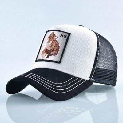 8 Kinds of embroidery animal Baseball Caps men Breathable Mesh Snapback caps Unisex sun hat for women bone Casquette Hip Hop cap 58