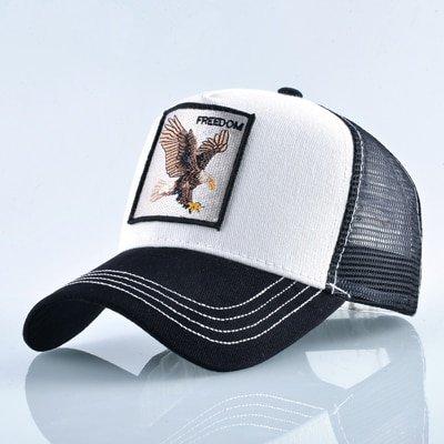 8 Kinds of embroidery animal Baseball Caps men Breathable Mesh Snapback caps Unisex sun hat for women bone Casquette Hip Hop cap 64