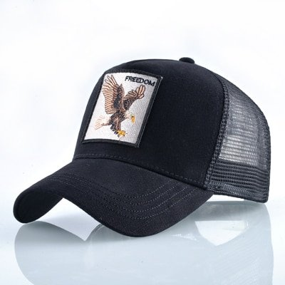 8 Kinds of embroidery animal Baseball Caps men Breathable Mesh Snapback caps Unisex sun hat for women bone Casquette Hip Hop cap 72