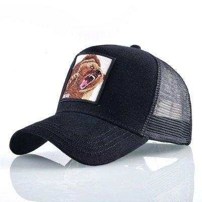 8 Kinds of embroidery animal Baseball Caps men Breathable Mesh Snapback caps Unisex sun hat for women bone Casquette Hip Hop cap 84