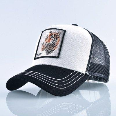 8 Kinds of embroidery animal Baseball Caps men Breathable Mesh Snapback caps Unisex sun hat for women bone Casquette Hip Hop cap 88