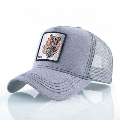 8 Kinds of embroidery animal Baseball Caps men Breathable Mesh Snapback caps Unisex sun hat for women bone Casquette Hip Hop cap 94