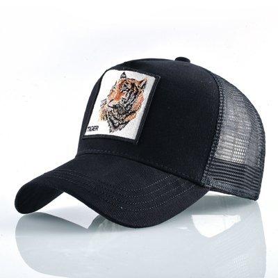 8 Kinds of embroidery animal Baseball Caps men Breathable Mesh Snapback caps Unisex sun hat for women bone Casquette Hip Hop cap 96