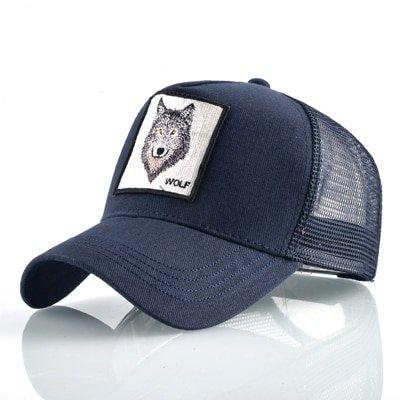 8 Kinds of embroidery animal Baseball Caps men Breathable Mesh Snapback caps Unisex sun hat for women bone Casquette Hip Hop cap 102
