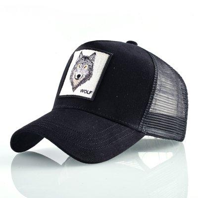 8 Kinds of embroidery animal Baseball Caps men Breathable Mesh Snapback caps Unisex sun hat for women bone Casquette Hip Hop cap 108