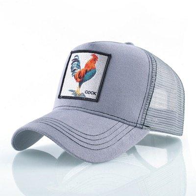 8 Kinds of embroidery animal Baseball Caps men Breathable Mesh Snapback caps Unisex sun hat for women bone Casquette Hip Hop cap 24