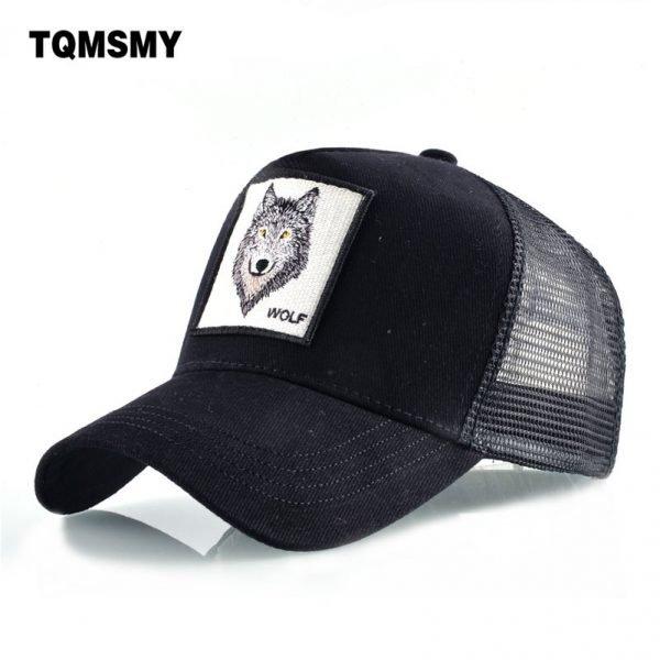 8 Kinds of embroidery animal Baseball Caps men Breathable Mesh Snapback caps Unisex sun hat for women bone Casquette Hip Hop cap 2