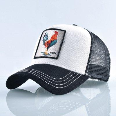 8 Kinds of embroidery animal Baseball Caps men Breathable Mesh Snapback caps Unisex sun hat for women bone Casquette Hip Hop cap 14