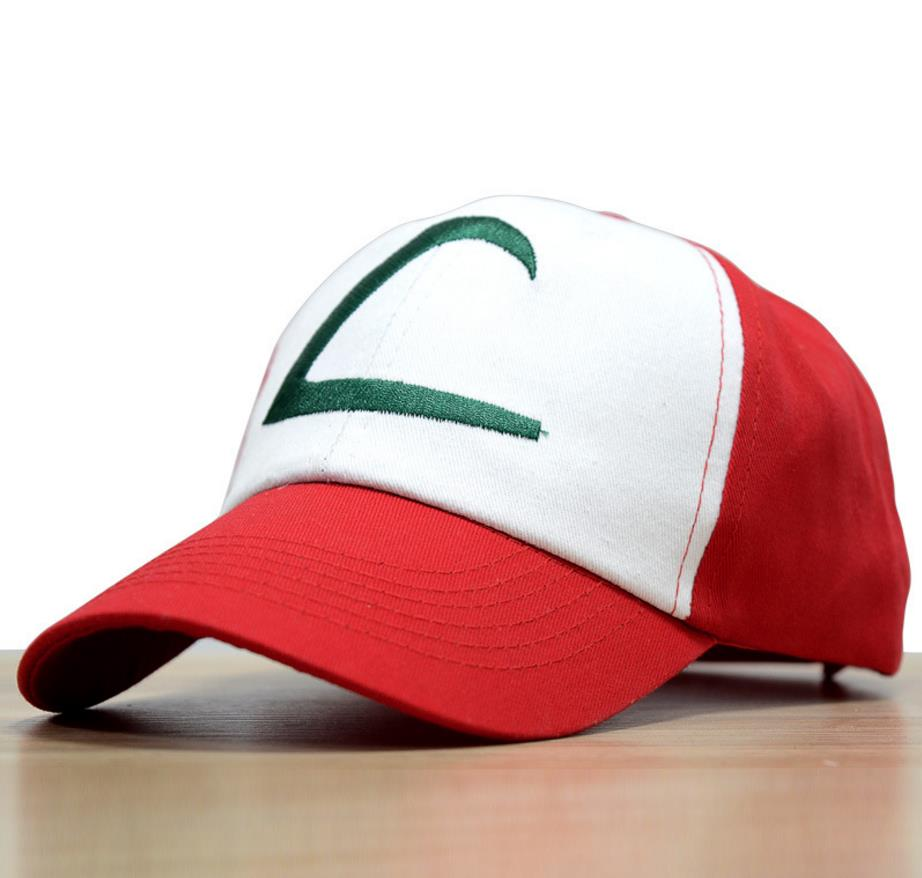 Anime Pocket Monster Cosplay Costumes Hats Pokemon Cap Ash Ketchum 3