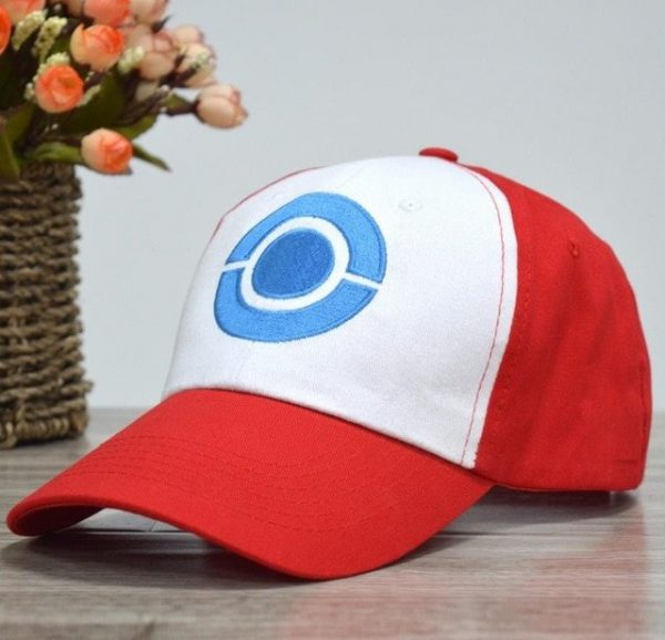Anime Pocket Monster Cosplay Costumes Hats Pokemon Cap Ash Ketchum 7