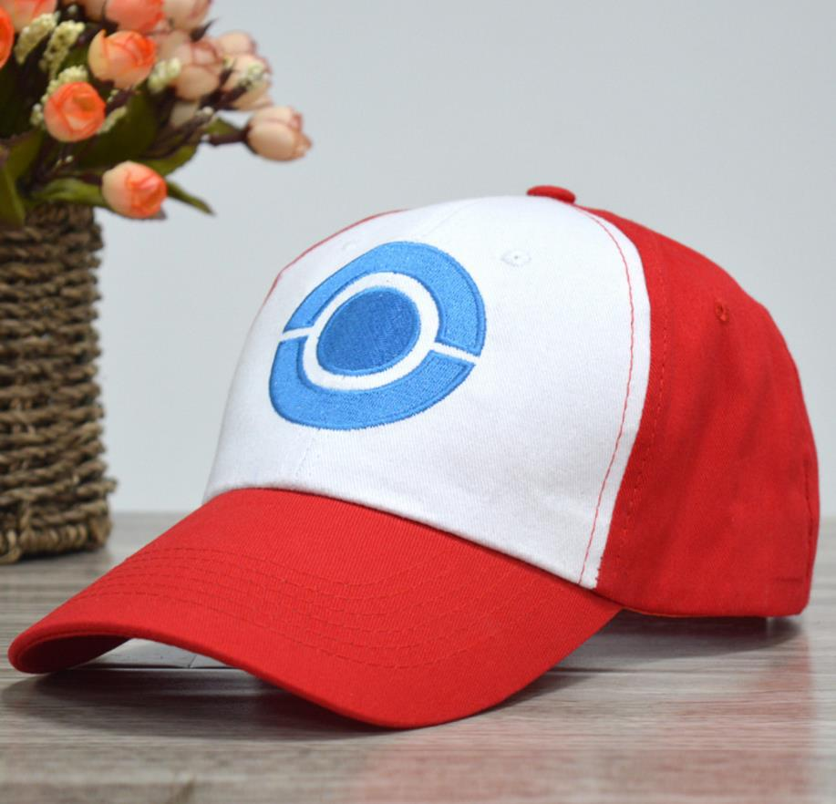 Anime Pocket Monster Cosplay Costumes Hats Pokemon Cap Ash Ketchum 5