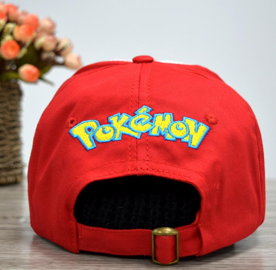 Anime Pocket Monster Cosplay Costumes Hats Pokemon Cap Ash Ketchum 7