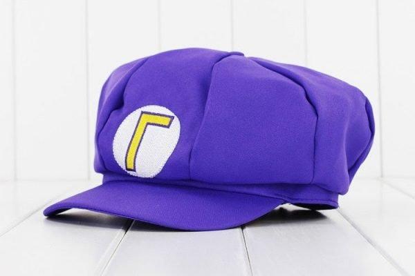 Anime Super Mario Hat Cap Luigi Bros Cosplay Baseball Costume 6