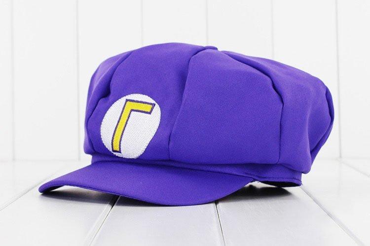 Anime Super Mario Hat Cap Luigi Bros Cosplay Baseball Costume 5