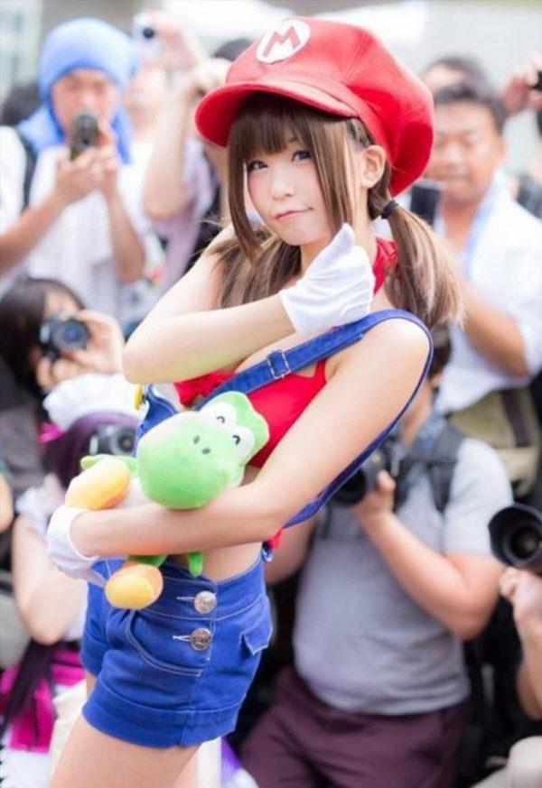 Anime Super Mario Hat Cap Luigi Bros Cosplay Baseball Costume 12