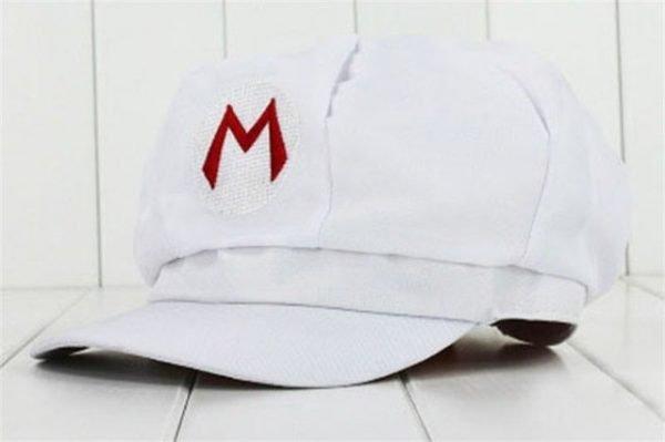 Anime Super Mario Hat Cap Luigi Bros Cosplay Baseball Costume 14