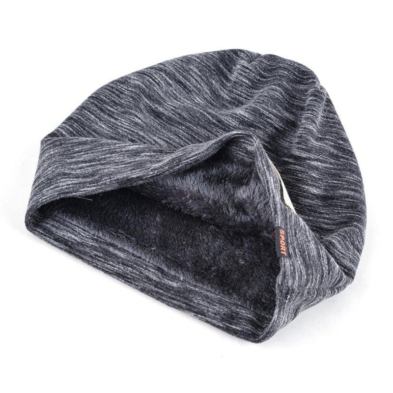 Autumn Hip hop cap Winter beanies men hats Rock logo Casual Cap Turban hat bonnet plus velvet caps for men beanie 5