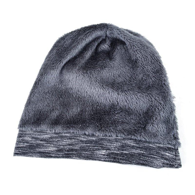 Autumn Hip hop cap Winter beanies men hats Rock logo Casual Cap Turban hat bonnet plus velvet caps for men beanie 9
