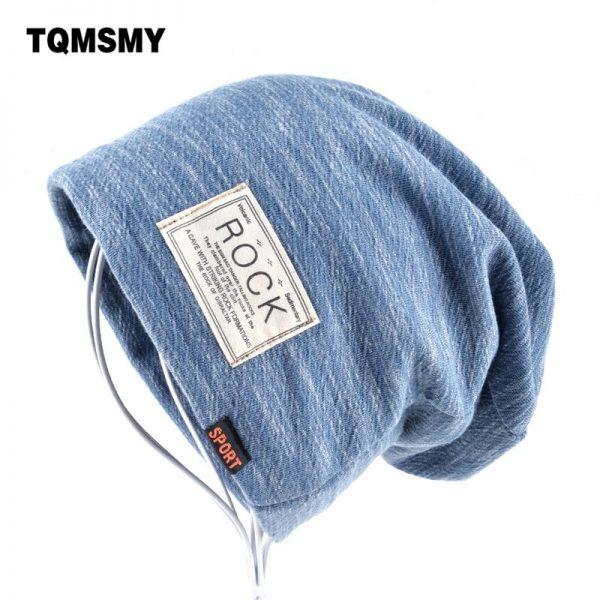 Autumn Hip hop cap Winter beanies men hats Rock logo Casual Cap Turban hat bonnet plus velvet caps for men beanie 2