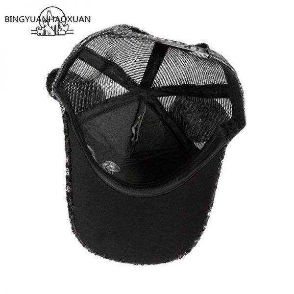 Sequins Ear Hats Kids Snapback Baseball Cap With Ears Funny Hats Spring Summer Hip Hop Boy Hats Caps 8