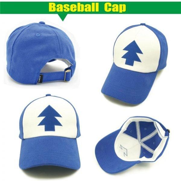 CLIMATE Gravity Falls Dipper Mabel Pines Cosplay Caps Dipper Gravity Falls Baseball Cap Summer Cool Mesh Net Trucker Caps Hat 12