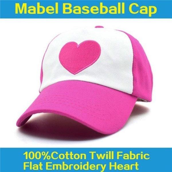 CLIMATE Gravity Falls Dipper Mabel Pines Cosplay Caps Dipper Gravity Falls Baseball Cap Summer Cool Mesh Net Trucker Caps Hat 24