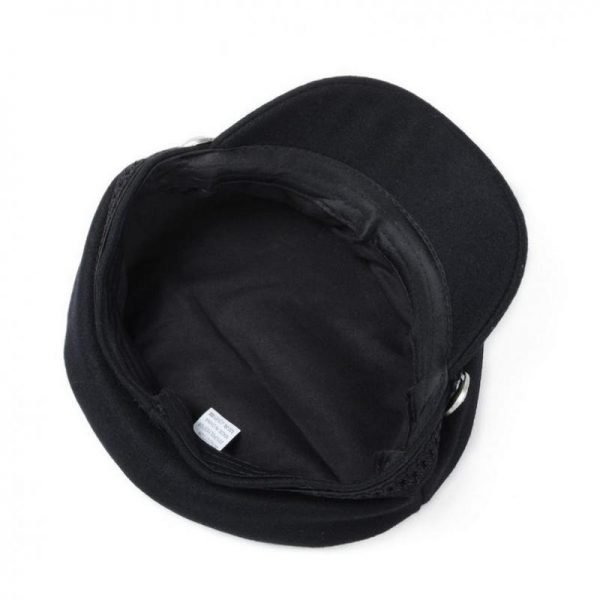 COKK Winter Hats For Women Winter Cap Wool Hat Female Button Baseball Cap Sun Visor Hat Gorras Casquette Black Fall Boina Bone 6
