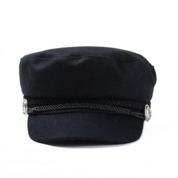 COKK Winter Hats For Women Winter Cap Wool Hat Female Button Baseball Cap Sun Visor Hat Gorras Casquette Black Fall Boina Bone 8