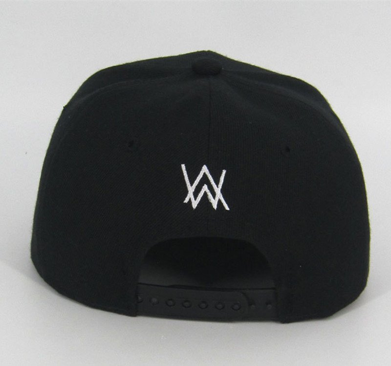 DJ Alan Walker Cosplay Costumes Hats Adjustable Black Cap With Gift Mask 7