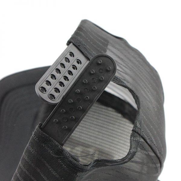 Hip Hop Black leopard Print Curved Baseball Caps Summer Mesh Snapback Hats For Women Men casquette Trucker Cap 12