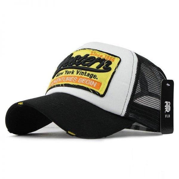 [FLB] Summer Baseball Cap Embroidery Mesh Cap Hats For Men Women Gorras Hombre hats Casual Hip Hop Caps Dad Casquette F207 4