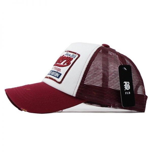 [FLB] Summer Baseball Cap Embroidery Mesh Cap Hats For Men Women Gorras Hombre hats Casual Hip Hop Caps Dad Casquette F207 10
