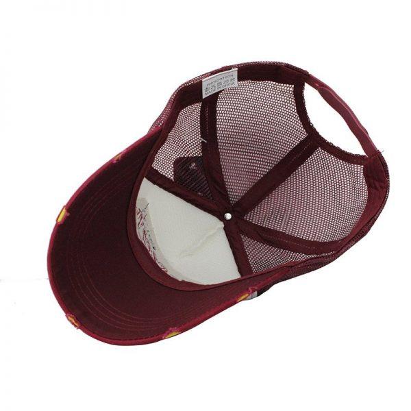 [FLB] Summer Baseball Cap Embroidery Mesh Cap Hats For Men Women Gorras Hombre hats Casual Hip Hop Caps Dad Casquette F207 12