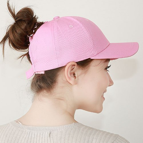 Ponytail Baseball Cap Women Messy Bun Baseball Hat Snapback 38