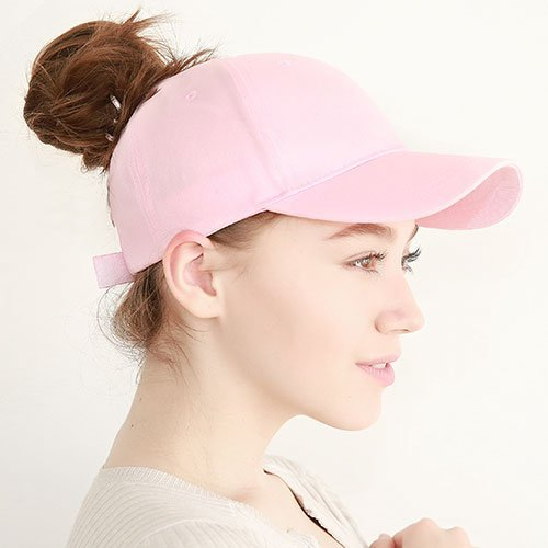 Ponytail Baseball Cap Women Messy Bun Baseball Hat Snapback 40