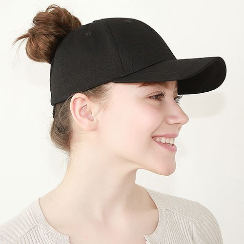 Ponytail Baseball Cap Women Messy Bun Baseball Hat Snapback 48