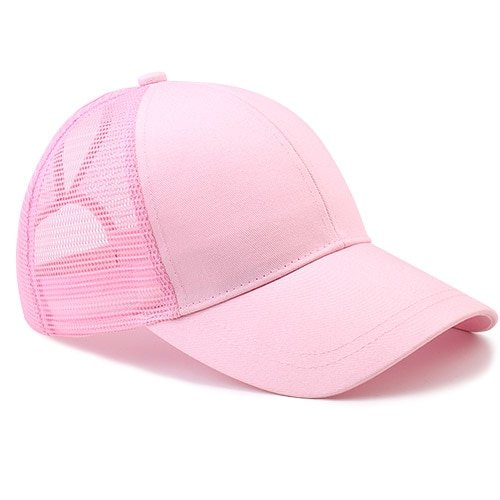 Ponytail Baseball Cap Women Messy Bun Baseball Hat Snapback 22