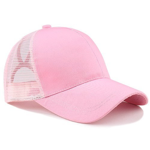 Ponytail Baseball Cap Women Messy Bun Baseball Hat Snapback 24