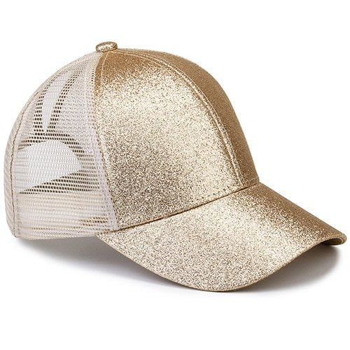 Ponytail Baseball Cap Women Messy Bun Baseball Hat Snapback 28