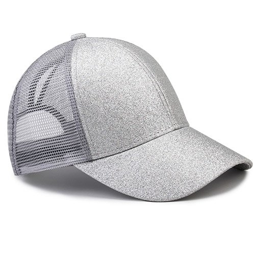 Ponytail Baseball Cap Women Messy Bun Baseball Hat Snapback 30