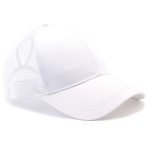 Ponytail Baseball Cap Women Messy Bun Baseball Hat Snapback 14