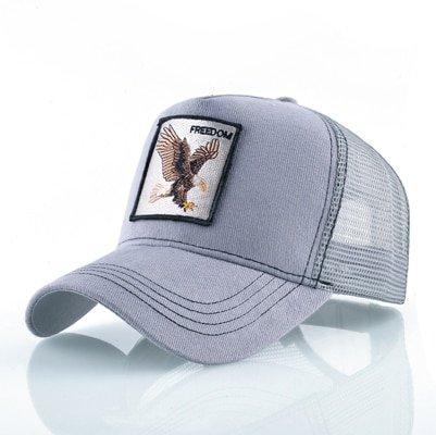 Fashion Animals Embroidery Baseball Caps Men Women Snapback Hip Hop Hat Summer Breathable Mesh Sun Gorras Unisex Streetwear Bone 18