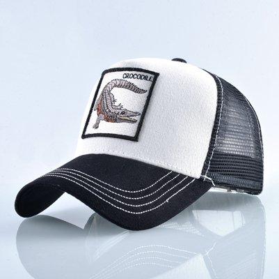 Fashion Animals Embroidery Baseball Caps Men Women Snapback Hip Hop Hat Summer Breathable Mesh Sun Gorras Unisex Streetwear Bone 25