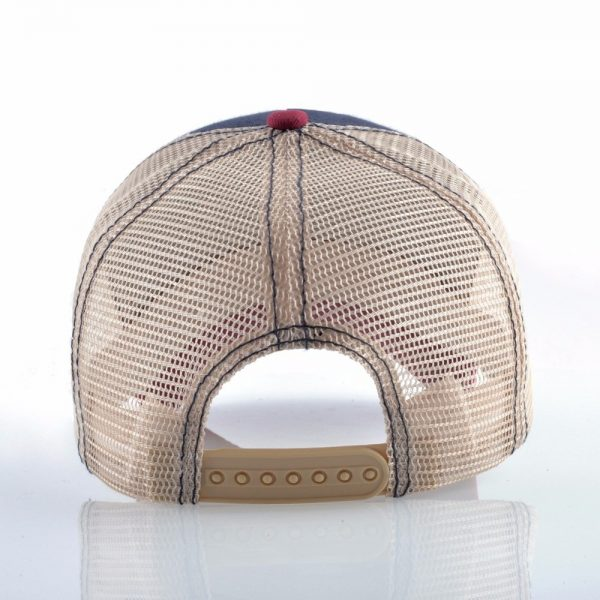 Fashion Animals Embroidery Baseball Caps Men Women Snapback Hip Hop Hat Summer Breathable Mesh Sun Gorras Unisex Streetwear Bone 3