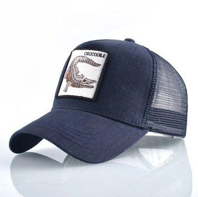 Fashion Animals Embroidery Baseball Caps Men Women Snapback Hip Hop Hat Summer Breathable Mesh Sun Gorras Unisex Streetwear Bone 27