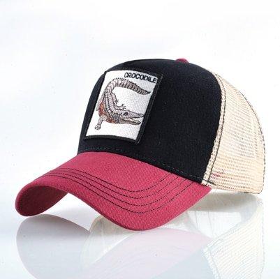 Fashion Animals Embroidery Baseball Caps Men Women Snapback Hip Hop Hat Summer Breathable Mesh Sun Gorras Unisex Streetwear Bone 29