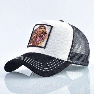 Fashion Animals Embroidery Baseball Caps Men Women Snapback Hip Hop Hat Summer Breathable Mesh Sun Gorras Unisex Streetwear Bone 31