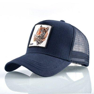 Fashion Animals Embroidery Baseball Caps Men Women Snapback Hip Hop Hat Summer Breathable Mesh Sun Gorras Unisex Streetwear Bone 51